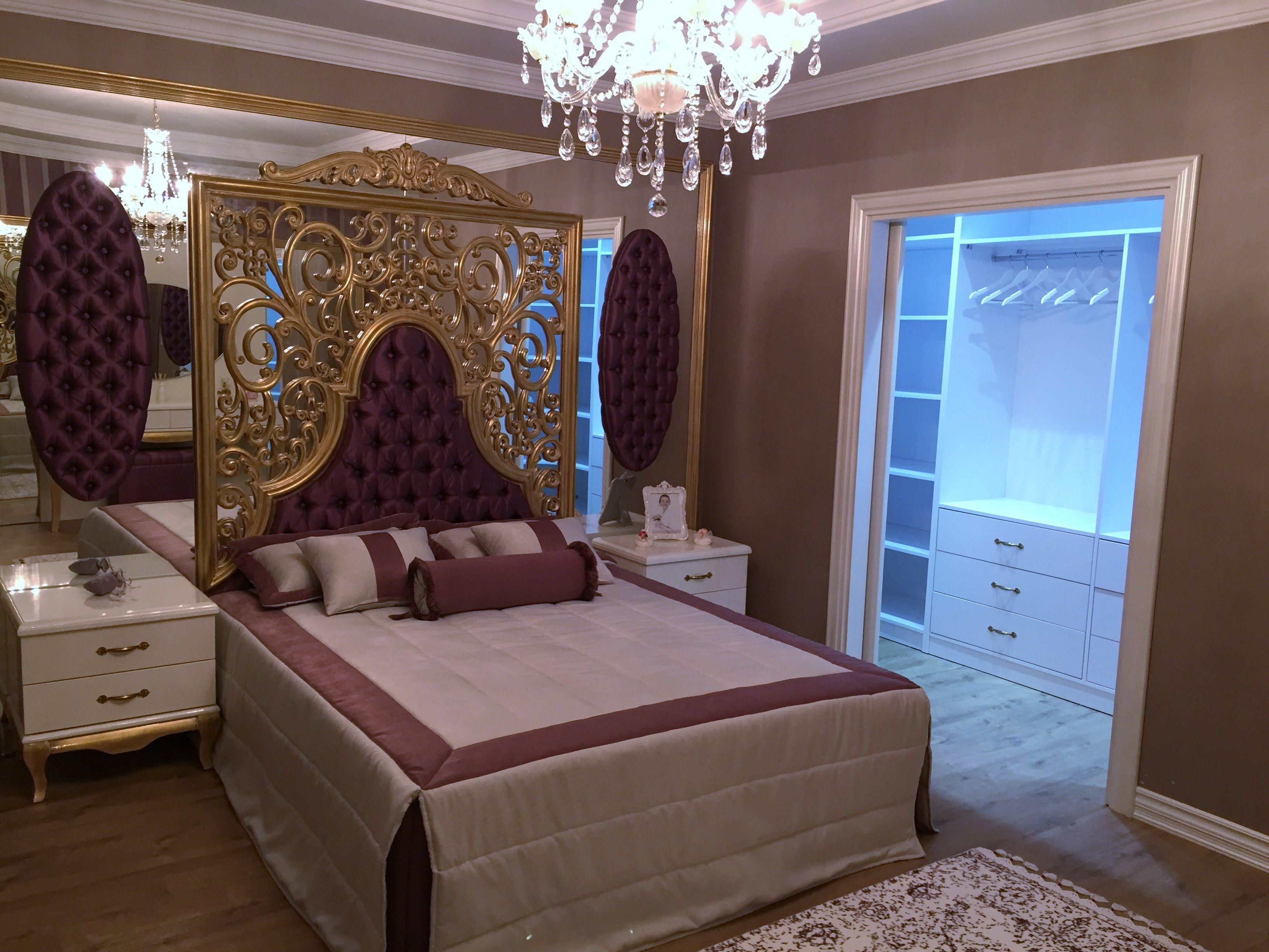 klasik yatak odas oymal yatak ba yatak odas dekorasyonu k zel