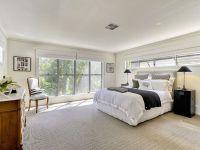 aluminium frame windows white interior a spacious bedroom ...