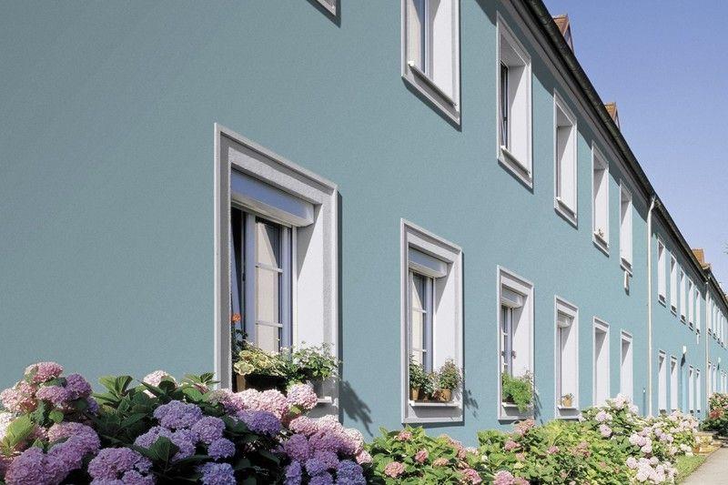 Streich die Fassade! Ein Reihenhaus ist ganz und gar nicht - fassade streichen welche farbe