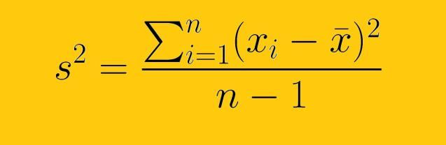 How to Calculate the Sample Variance The formula for the sample - sample variance