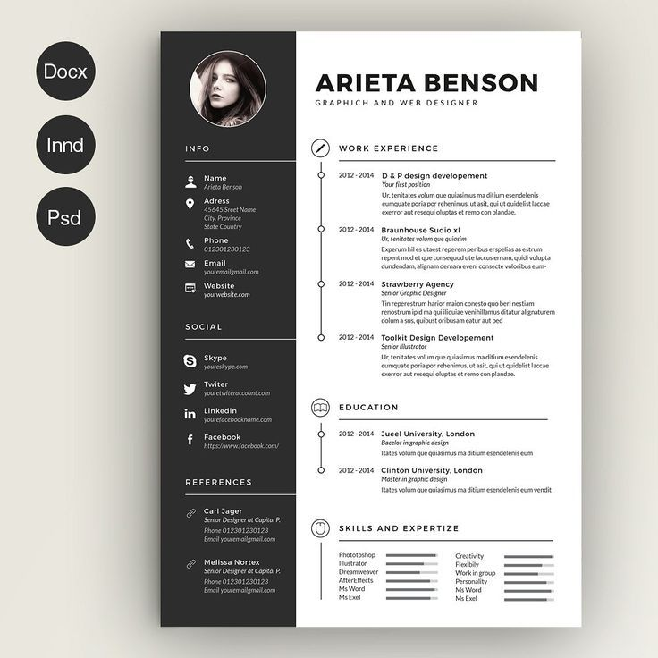 resume designs 27 beautiful résumé designs youu0027ll want to