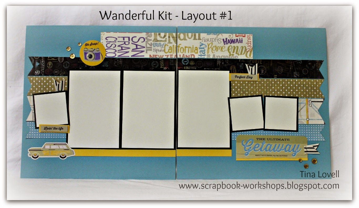 Scrapbook kit cutting guides created by tina lovell to help make your job faster simpler