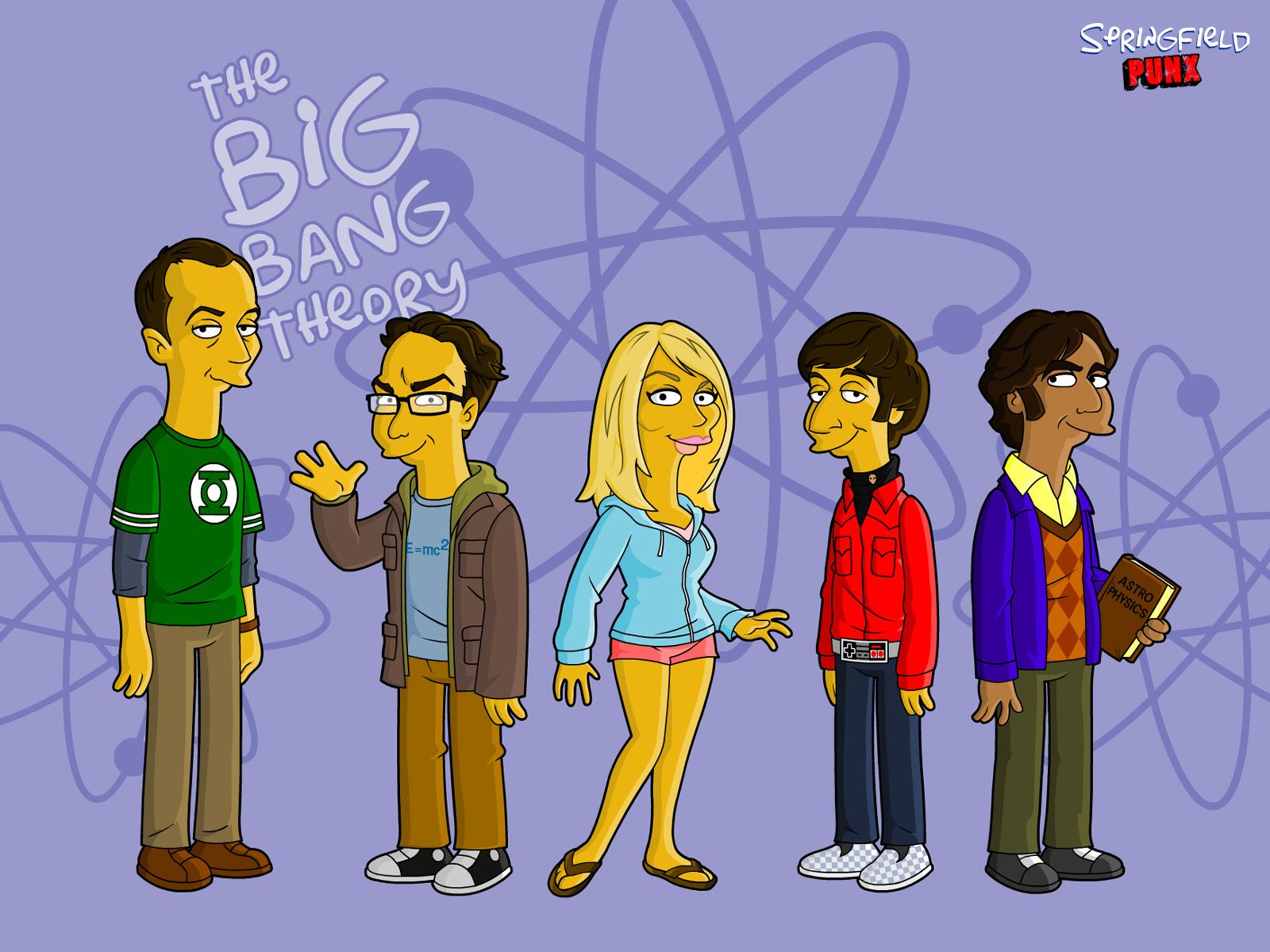 Big Bang Theory Bettwäsche The Big Bang Theory The Big Bang Theory Wallpaper