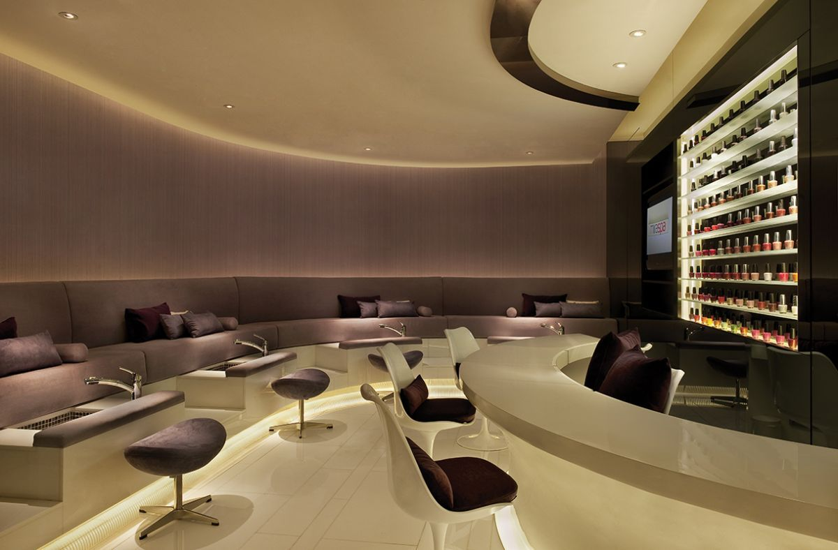Luxury nail salon interior design - Luxury Nail Salon Interior Design 0