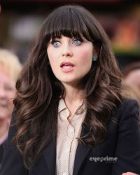 Zooey Deschanel hair love this color | Peinados y maq ...