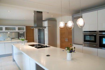 Modern Kitchen Lighting breakfast bar lighting ideas - modern kitchen lighting ideas