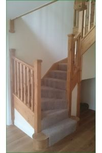 Trederwen View - this a double winder staircase with stop ...