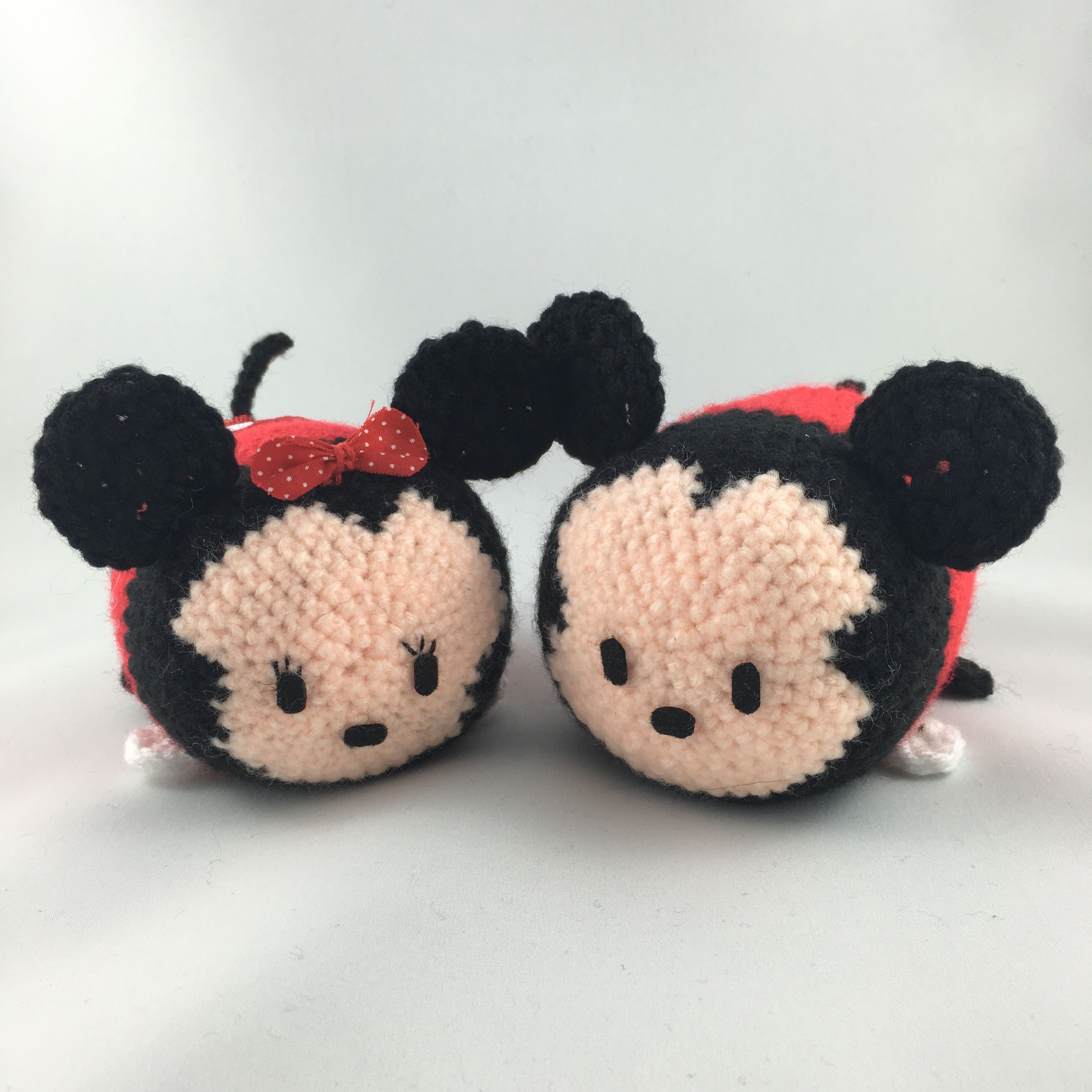 Alfombras Mickey Mouse Minnie And Mickey Mouse Tsum Tsum Amigurumi Crochet