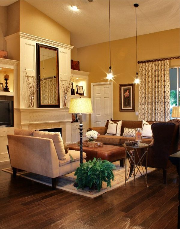 43 Cozy and warm color schemes for your living room Warm color - cozy living room colors