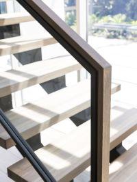 Stair   Modern   Design   Architecture   Steel Stringers ...