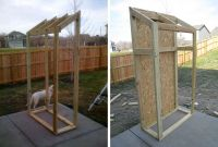 outdoor storage cabinet-for behind our 'office building ...