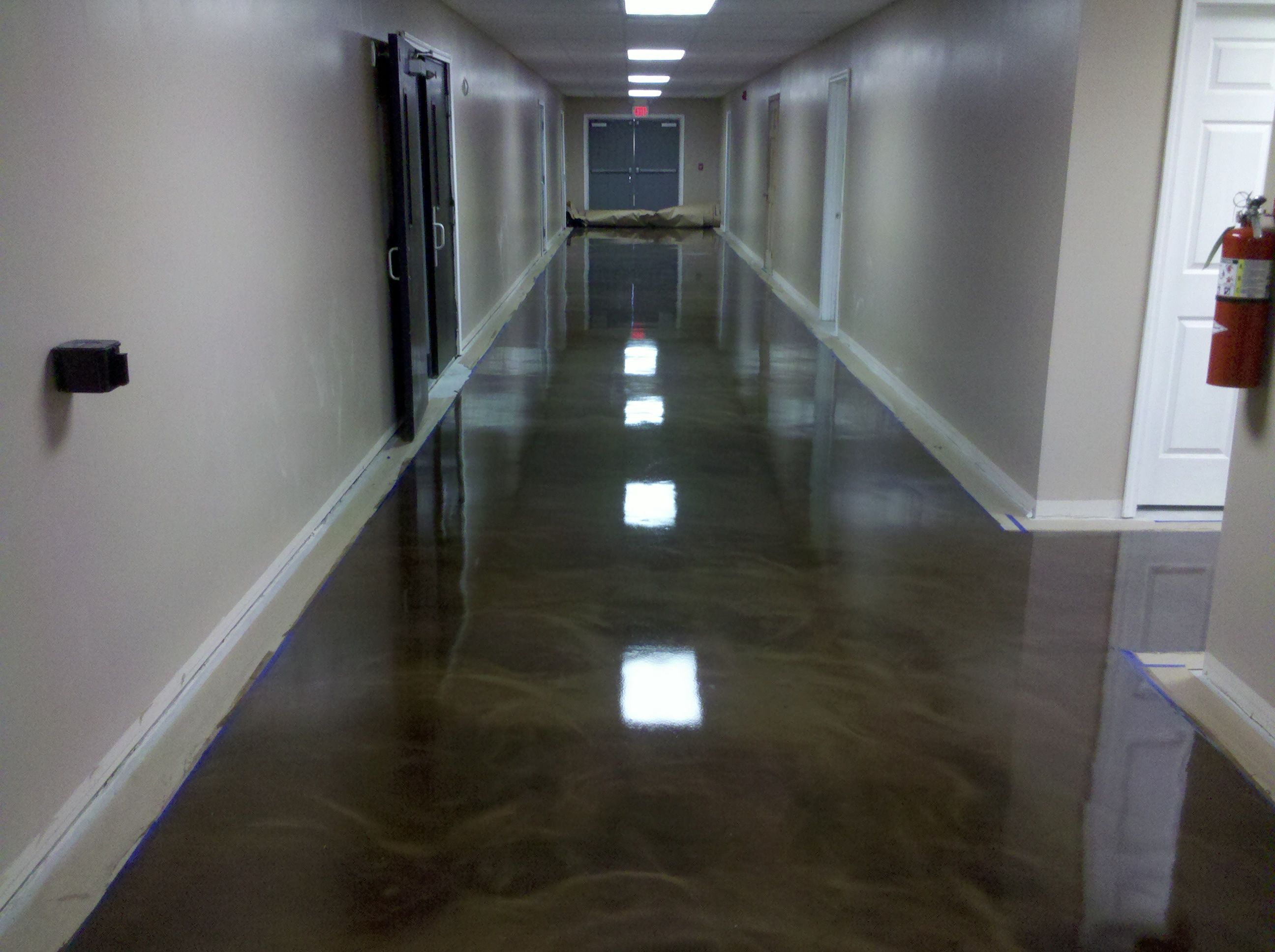 Countertop Epoxy Com Reflector Epoxy Commercial Floor In North Jersey Office