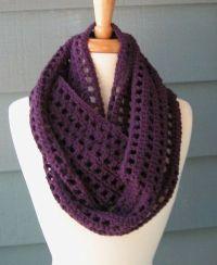 Free Pattern: Artfully Simple Infinity Scarf   Crochet ...
