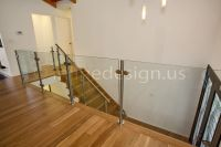 indoor glass ballisters