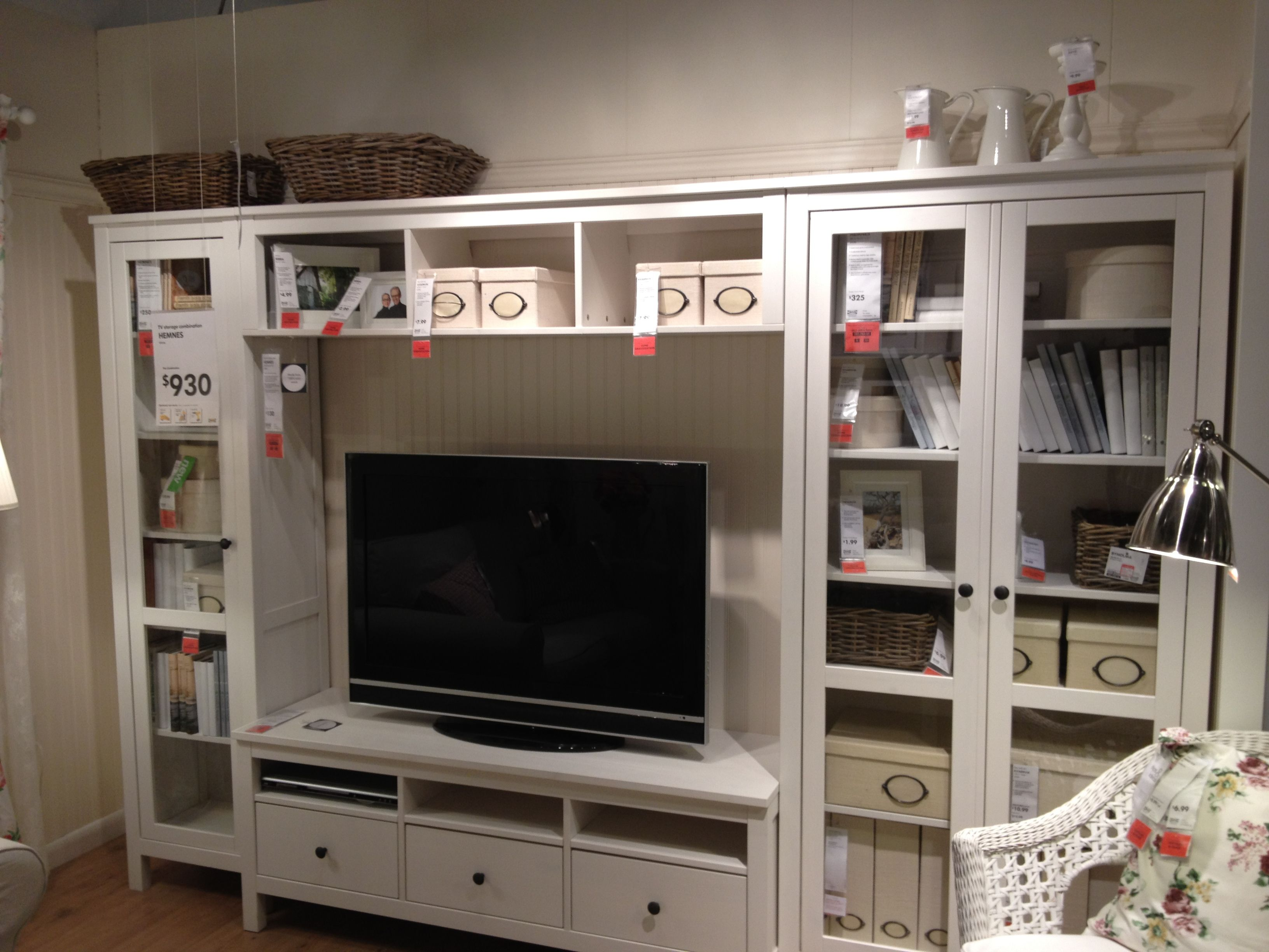 Hemnes Wohnzimmer Ideen Tv Storage Combination Ikea Hemnes 930 Loft Pinterest