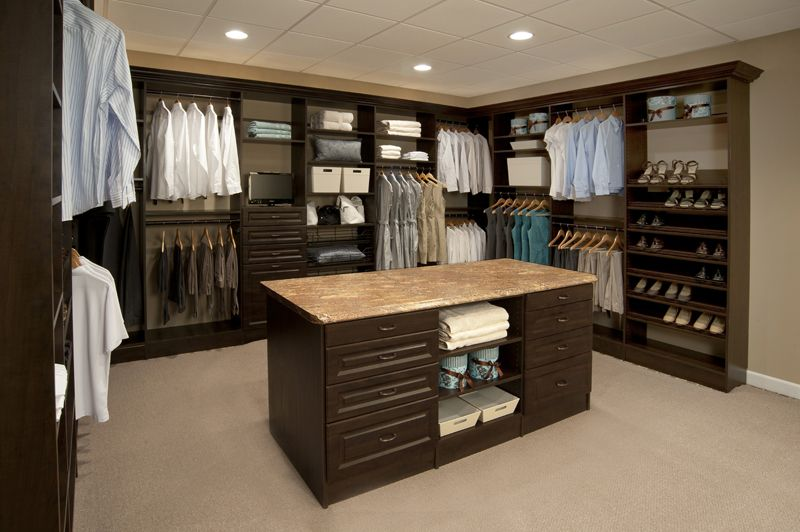 Closet Island Large Walk In Closets - Google Search | Closets Pantry's