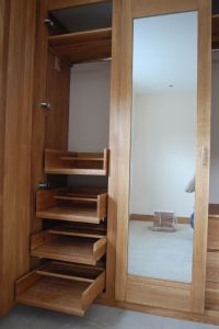 sliding drawers inside wardrobe | Diy | Pinterest ...