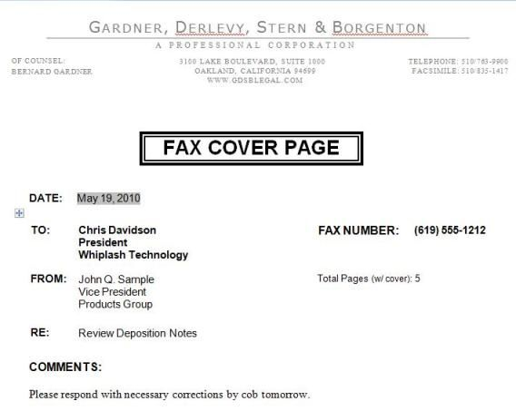 Fax Cover Sheet Microsoft Word Fax Cover Sheet Free Cover Fax - sample professional fax cover sheet template