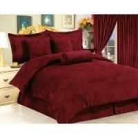 Burgundy Comforter Set - I want. We already have wine ...