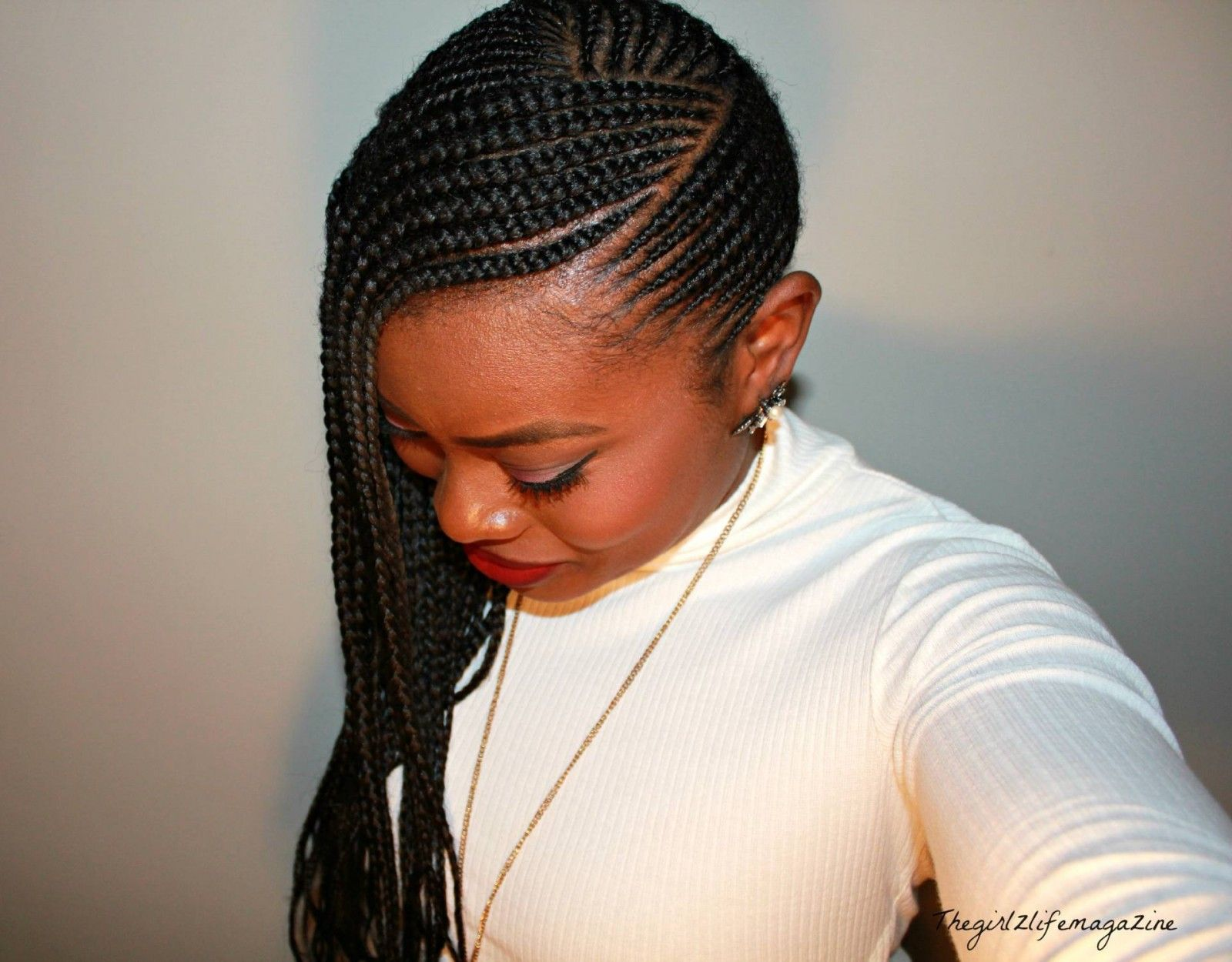 Coiffure Africaine Braid Cornrows Braids Pinterest Coiffure Protectrice