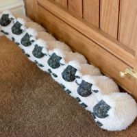 20 DIY Draft Stoppers That Keep Your Home Insulated