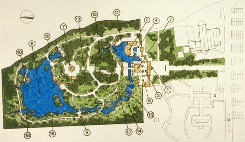 chinese garden plan - Поиск в Google Plans of the gardens and - chinese garden design