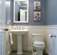 Dunstable Blue and White Half Bath | Half baths, Bath and ...
