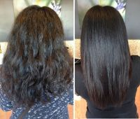 Keratin Before & After | Our Work! Only at Salon ...