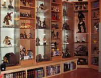 shelf ideas on Pinterest | Comic Books, Statues and Cabinets