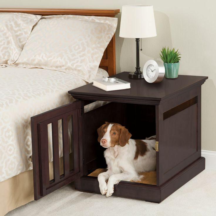 Pet Friendly Crates, Dog and Interiors - dog bedroom ideas