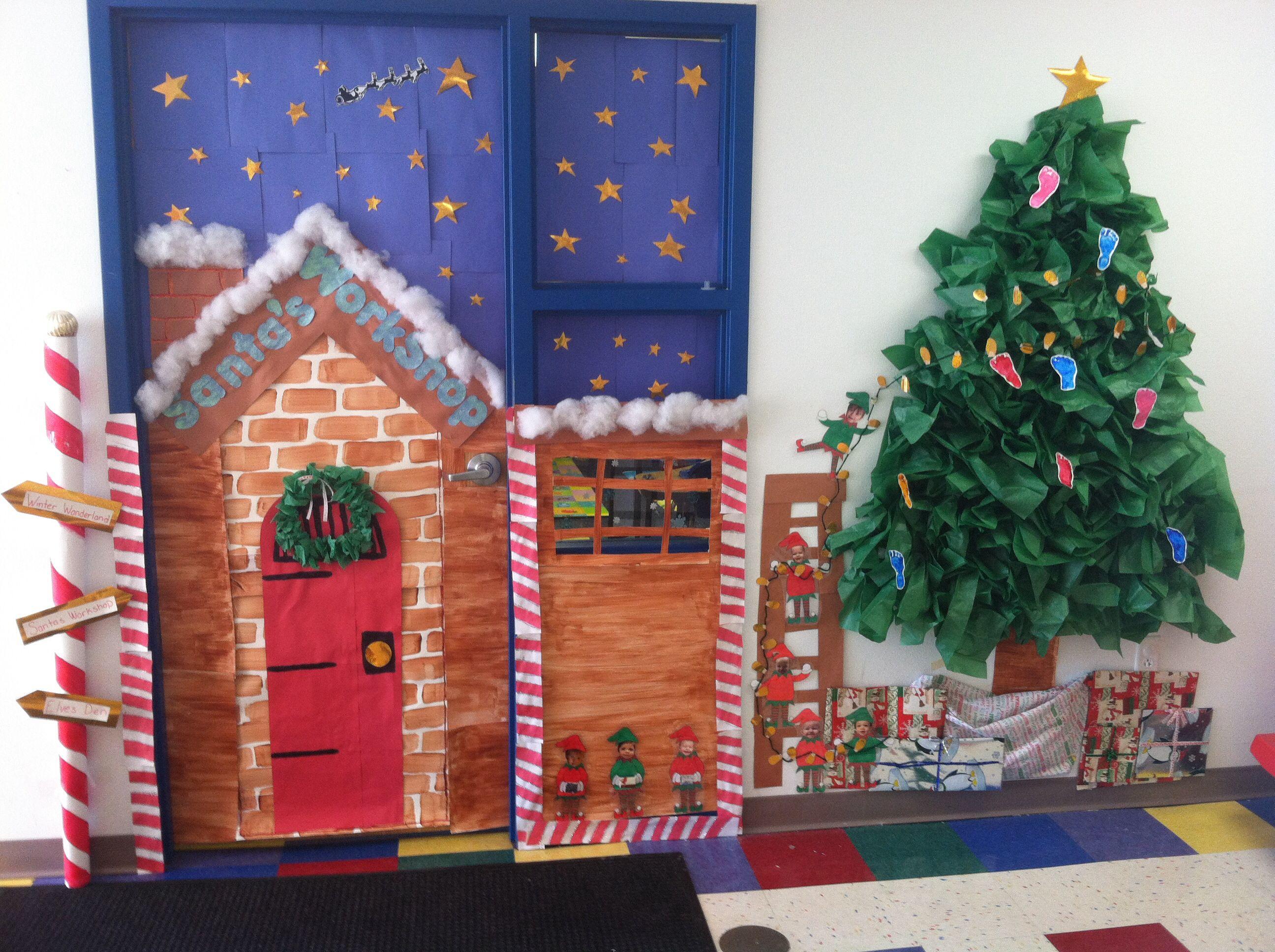 Santa's Workshop Classroom Door!
