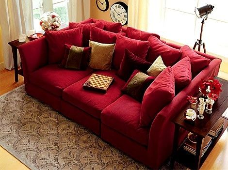 LOVE a nice deep couch! loveeee this big couch with a lot of - deep couches living room