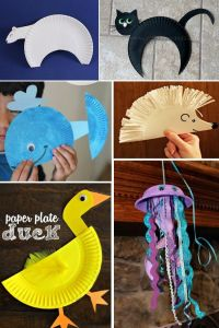 ANIMAL PAPER PLATE CRAFTS | Paper plate animals, Paper ...