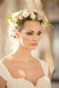 Flores para cabelo noiva - Fresh Flower Wedding Hair ...