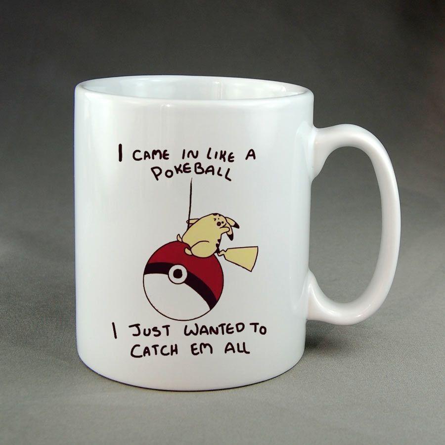 Pikachu Pokemon Custom Mugs Cheapcoffee Mugspersonalized