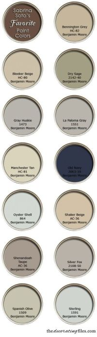 Designer Sabrina Soto's favorite paint colors.. | For the ...