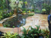 Koi Pond and Flagstone Patio #72#flagstone patio#pond ...
