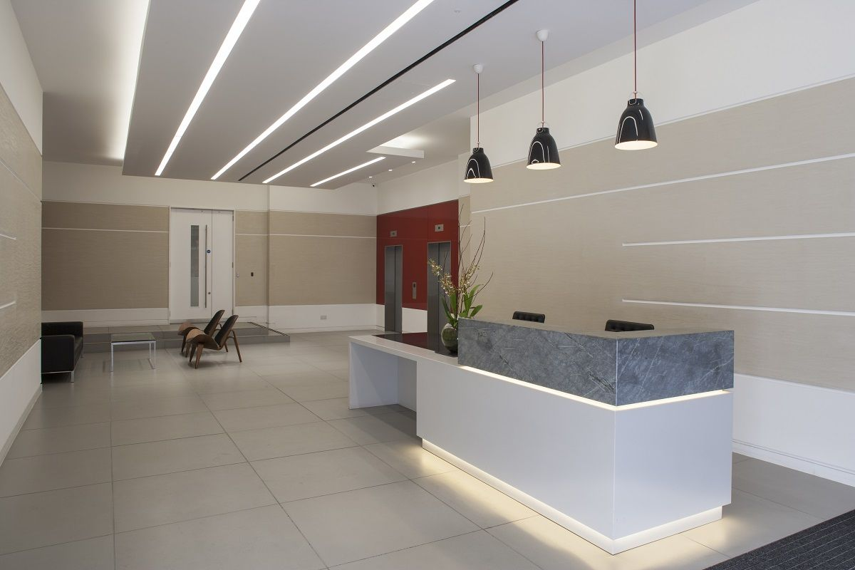 Executive Office Reception Design Overclad Existing Reception Desk Google Search Office