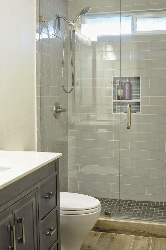 Walk In Shower Small Bathroom