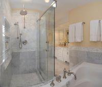 bathroom shower tile carrera marble | Bianco Carrara ...