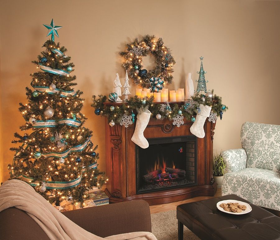 decorating a mantle with snowflakes for christmas Mantel - christmas decorations for mantels
