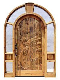 Custom Doors | Carved Wood Front Entry Doors | Fishing ...