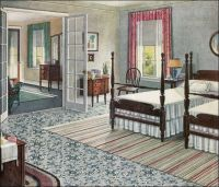 1920s colonial furniture | 1923 Armstrong Rose & Sage ...