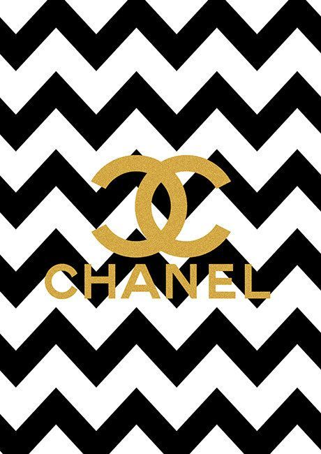 Iphone 5 Wallpaper Gold Photo Collection Chanel Wallpapers Logo