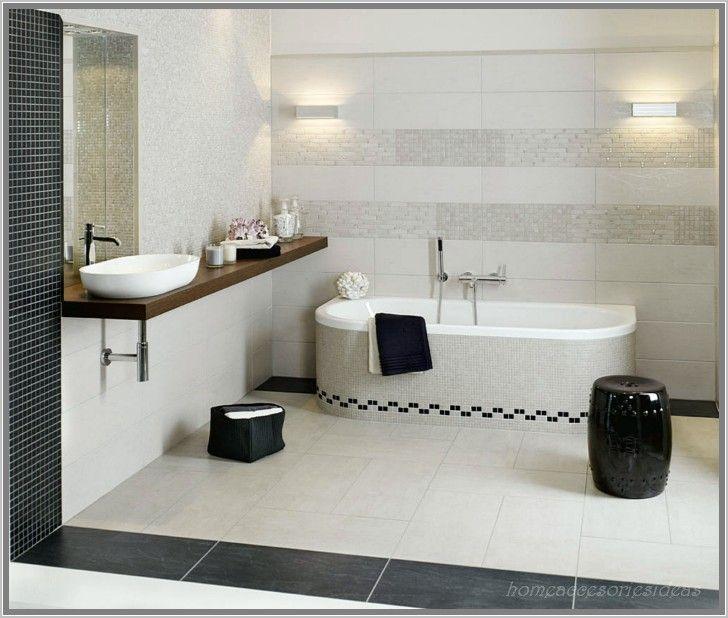 Anthrazit Bad Mit Mosaik Mosaikfliesen weiß Ideen Badezimmer - weies badezimmer modern gestalten