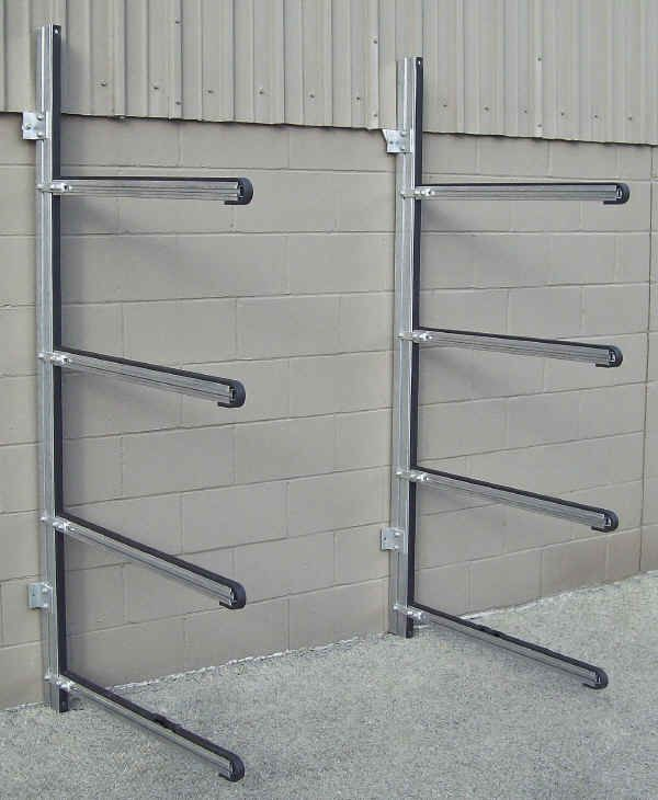 Trailex Four Position Wall Rack For Canoes Or Kayaks