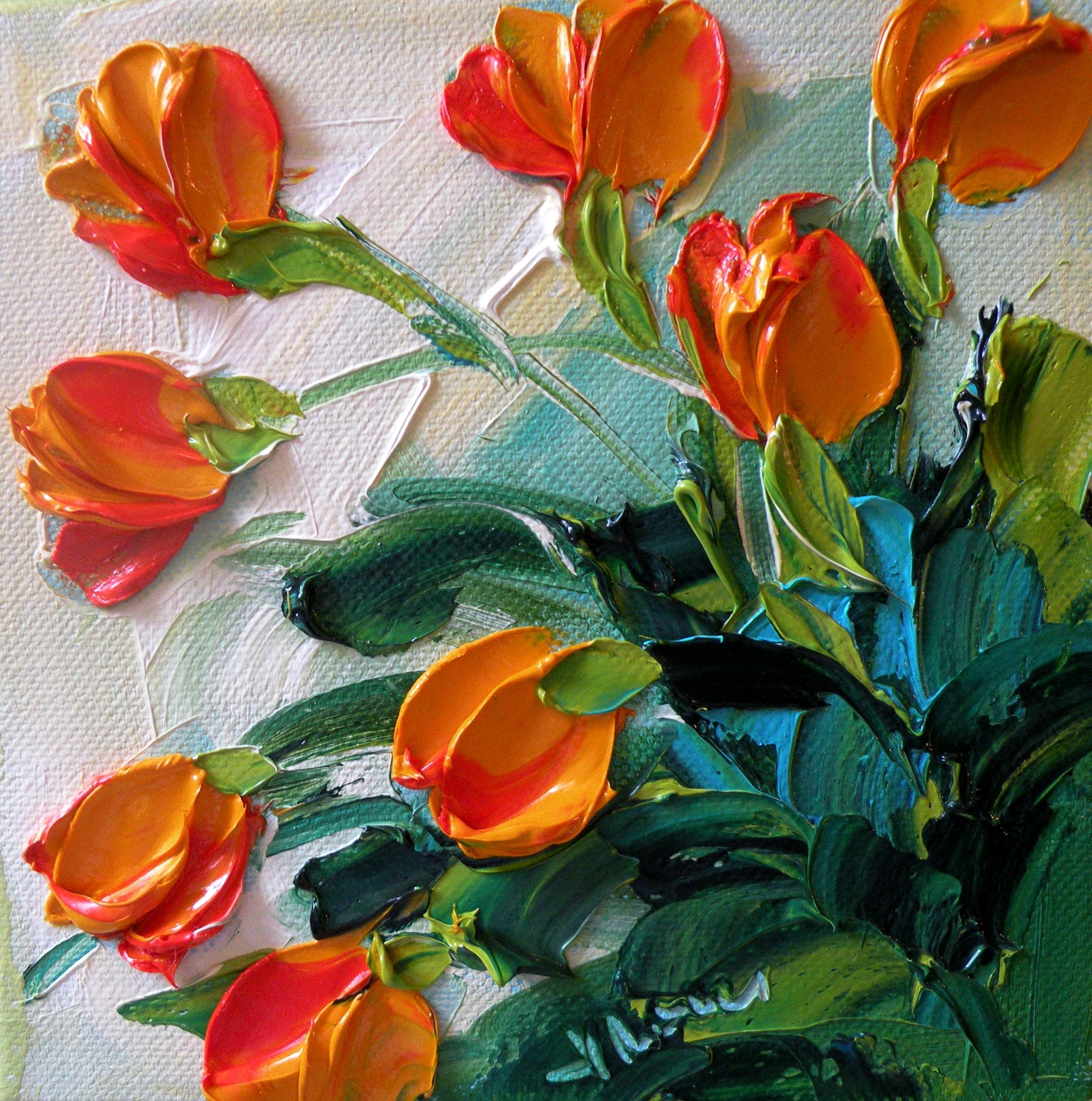 Art Textures Techniques Painting Acrylic Flowers Acrylic Painting Techniques