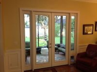 French Door with Sidelites and Pet Door. This was a ...