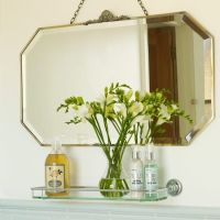 Period-style bathroom ideas | Vintage mirrors, Shower ...