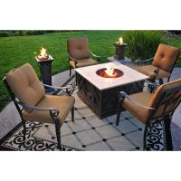 Making Fire Pit Coffee Table - http://tabledesign ...